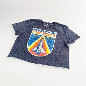 NASA cropped tee